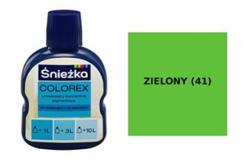 pigment colorex ZIELONY (41)