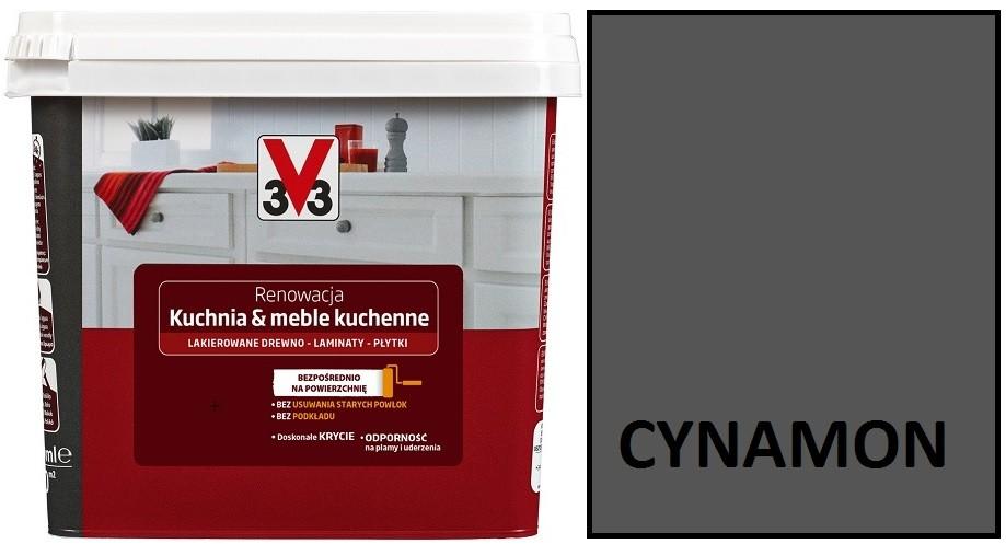 V33 Farba Renowacja Kuchnia I Meble Kuchenne Cynamon 0 75l Tarti