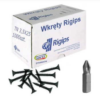 RIGIPS TN wkręty do metalu 3,5 mm x 25 mm - 1000 szt