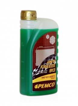 PEMCO ANTIFREEZE 913 -40°C ZIELONY  1L