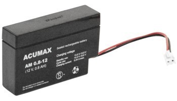 Akumulator   0,8Ah/12V AM0,8-12 ACUMAX