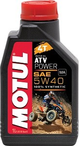 Motul ATV POWER 4T 5w40 1L do quadów