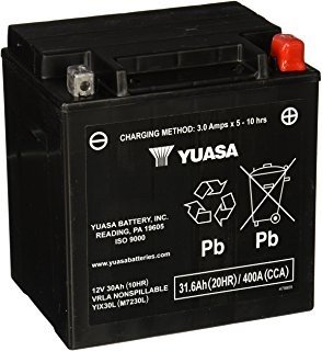 Akumulator  30Ah/400A P+ BP YIX30L-BS