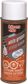 Kleen-flo White Grease 450g areozol