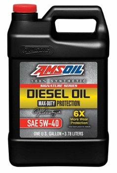 AMSOIL  5W40 Max-Duty Signature Series