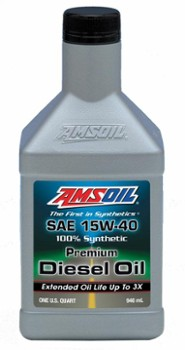 AMSOIL 15W40 Max-Duty Signature Series