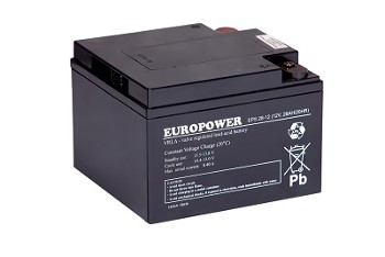 Akumulator  28Ah/12V EPS28-12 EUROPOWER