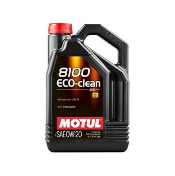 Motul 8100 Eco-Clean 0w20 C5  5L
