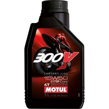 Motul 300V 4T 15w50 1L Road Racing FL