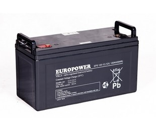 Akumulator 120Ah/12V EPS120-12 EUROPOWER