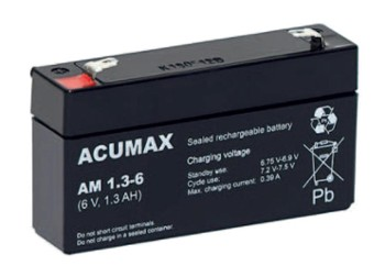 Akumulator   1,3Ah/6V AM1,3-6 ACUMAX