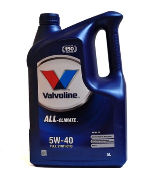 Valvoline All Climate Diesel 5w40 C3  5L