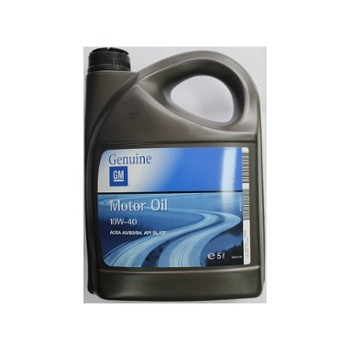 GM Genuine Motor Oil 10w40  5L