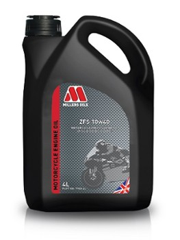 Millers Oils Motorcycle ZFS 10w40 4T 4L