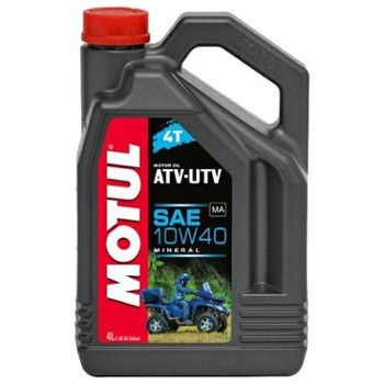 Motul ATV UTV 4T 10w40 4L do quadów