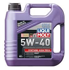 LIQUI MOLY 5W40 Synthoil High Tech 4L