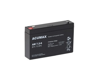 Akumulator   7,2Ah/6V AM7,2-6 ACUMAX