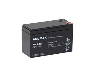 Akumulator   7,0Ah/12V AM7-12 T1 ACUMAX