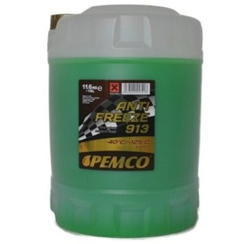 PEMCO ANTIFREEZE 913 -40°C ZIELONY 10L
