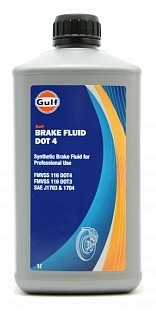 Gulf Super Brake Fluid DOT4  1L