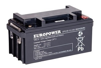 Akumulator  65Ah/12V EPS65-12 EUROPOWER