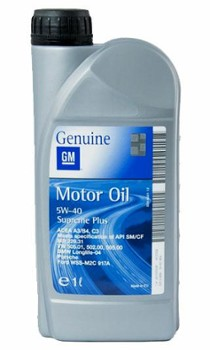 GM Motor Oil Supreme Plus 5W40 1L