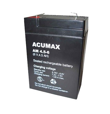 Akumulator   4,5AH/6V AM4,5-6  ACUMAX