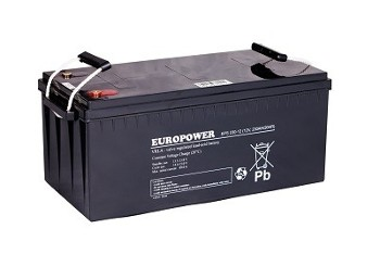 Akumulator 230Ah/12V EPS230-12 EUROPOWER