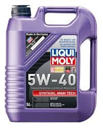 LIQUI MOLY 5W40 Synthoil High Tech 5L