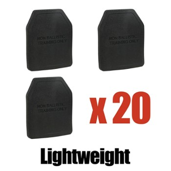 Training Plate 1.5 kg pack - 20pcs.