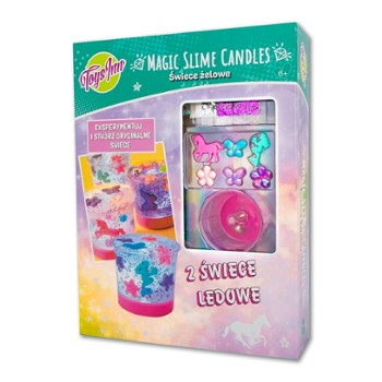 MAGIC SLIME CANDLES - ŚWIECE ŻELOWE