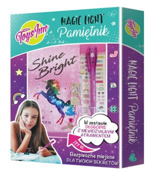 Pamiętnik Magic Light Unicorn