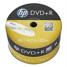 CD DVD+R stos 50szt.HP