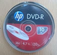 CD DVD-R stos 10szt. HP