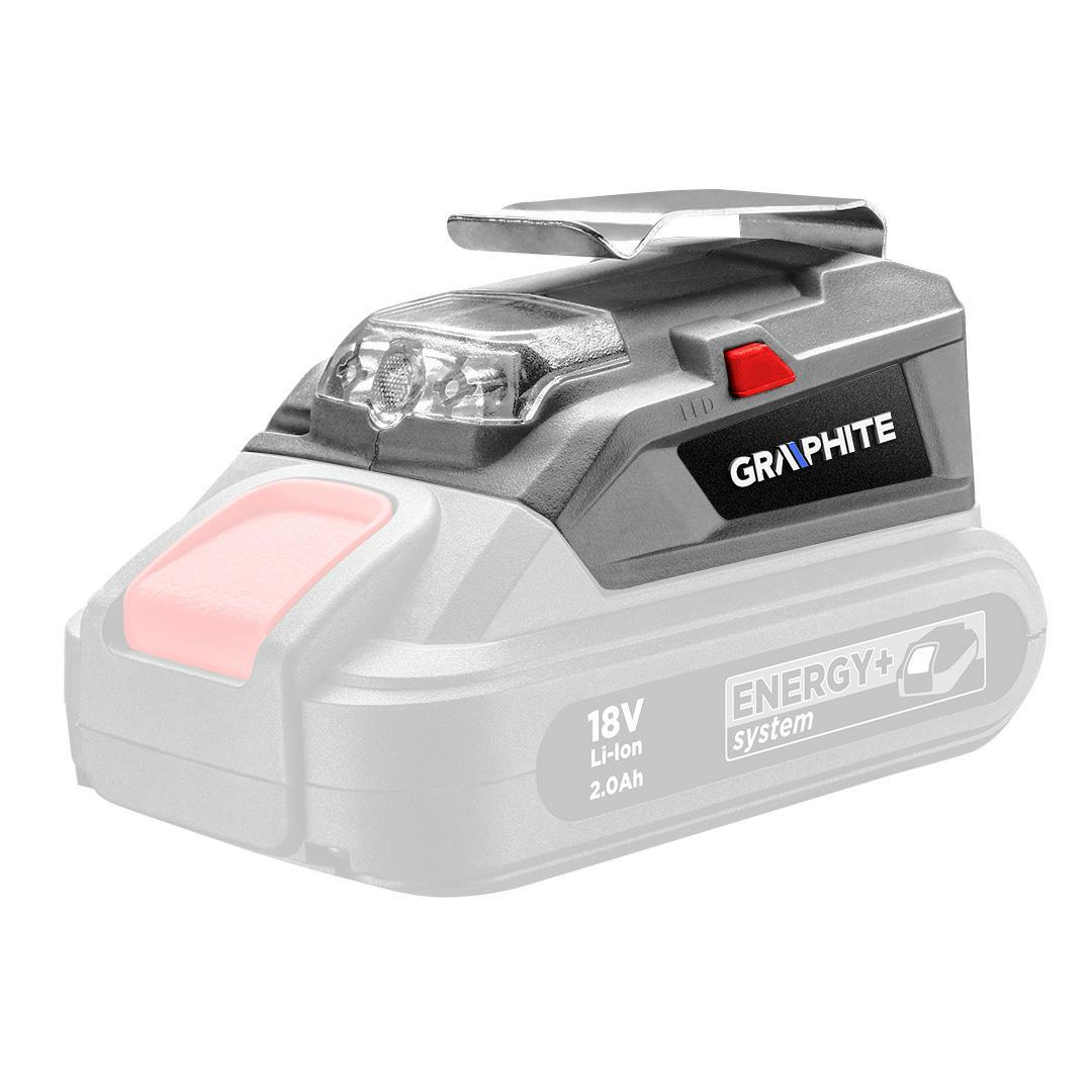 GRAPHITE Adapter USB - latarka LED Energy+