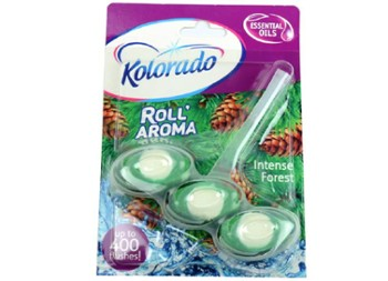 KOSTKA WC ROLL AROMA 51G INTENSE FOREST